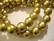 Puuhelmi kulta pyöreä 12 mm (n.34 kpl/nauha)