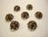 Vintaj helmihattu 11,5 mm (2 kpl/pss)