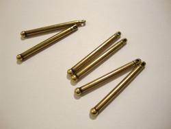 TierraCast Korulinkki / riipus pronssi 30 x 2,5 mm (2 kpl/pss)