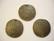 TierraCast Korulinkki / riipus pronssi pyöreä Taottu 25 mm