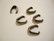 TierraCast Puristettava riipuspidike Nouveau pronssi 12 x 4 mm