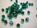 Swarovski kristallihelmi smaragdin vihreä AB pyöreä 6 mm (4/pss)