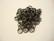 Tuplarengas 5 x 0,5 mm musta (120 kpl/pss)