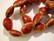 Keramiikkahelmi punainen ovaali 16 x 13 mm (10/pss)