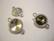 TierraCast Korulinkki rivolille hopeoitu pyöreä 24 x 16 mm