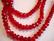 Kristallihelmi punainen (rubiini) rondelli 4 x 6mm (20/pss)
