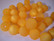 Polarishelmi kelta-oranssi matta 16 mm