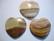 Italian onyx sydänriipus ruskeasävy 40x40 mm