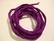 Silkkinauha käsinvärjätty violetti/lila n. 3 mm / pituus n. 1 m