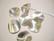 Metallihelmi/helmihattu hopeoitu hohtava Aaltoileva viipale 16 mm (4 kpl/pss)
