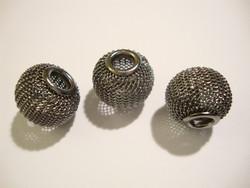 Verkkohelmi/punoshelmi teräs harmaa 13 x 16 mm, reikä n. 5 mm