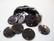 Simpukkahelmi/-linkki musta pyöreä litteä 15 mm, 2 reikäinen (10/pss)