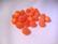 Polarishelmi oranssi matta 6 mm (6 kpl/pss)
