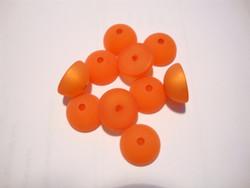 Polarishelmi oranssi matta puolipallo 12 mm (2/pss)