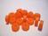 Polarishelmi oranssi matta rondelli 12 mm