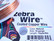 Zebra Wire kuparilanka natural (anti tarnish) 18 gauge = 1,02 mm (9 m kela)