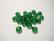Swarovski kristallihelmi sammalenvihreä rondelli 4 x 6 mm (4 kpl/pss)
