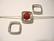 Metallihelmi/helmikehys (helmihäkki) hopeoitu 14 mm, sisämitta 8 mm helmelle (2 kpl/pss)