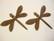 Vintaj Queen Dragonfly -sudenkorentoriipus 35 x 30 mm