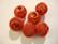 Verkkohelmi/punoshelmi teräs punainen 13 x 16 mm, reikä n. 5 mm