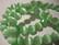 Kissansilmälasihelmi vaalea vihreä särmikäs pyöreä 10 mm (10 kpl/pss)