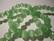 Kissansilmälasihelmi vaalea vihreä särmikäs pyöreä 8 mm (10 kpl/pss)