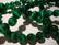 Kissansilmälasihelmi smaragdin vihreä särmikäs pyöreä 8 mm (10 kpl/pss)