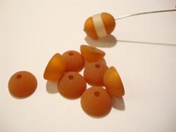 Polarishelmi siirapin ruskea matta puolipallo 12 mm (2/pss)