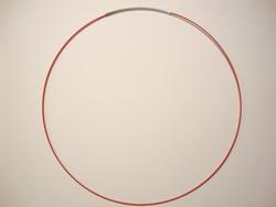 Valmis vaijeri kaulakoruun 45 cm x 1 mm punainen
