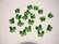 Swarovski kristallihelmi vihreä perhonen 6 mm (2 kpl/pss)