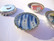 Magneetti pyöreä 10 mm, paksuus 1 mm, tarrakiinnitys (2 kpl/pss)