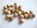 Rayher Puuhelmi puunvärinen natural pyöreä 8 mm (82 kpl/pss)