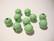 Rayher Puuhelmi vaalea vihreä 12 mm (32 kpl/pss)