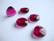 Swarovski kristalli brioletti rubiinin punainen 15 x 14 mm