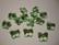 Swarovski kristallihelmi vaalean vihreä perhonen 10 mm (2 kpl/pss)
