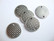 TierraCast Korulinkki Kudottu pyöreä hopeoitu 18,5 mm