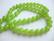 Tsekkiläinen lasihelmi limen vihreä opaakki 8 mm (20 kpl/pss)