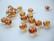 Swarovski kristallihelmi kuparinvärinen Copper rondelli 8 x 10 mm (4 kpl/pss)