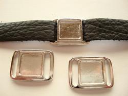 TierraCast Korulinkki / kuvakehys tumma hopeoitu 17,6 X 24,3 mm / kuvakoko 11,6 x 11,6 mm