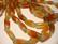 Akaatti punainen-vihreä tuubi 25 x 10 mm (10 kpl/pss)