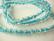 Särölasihelmi kirkas/turkoosi pyöreä 8 mm (20 kpl/pss)