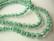 Särölasihelmi kirkas/vihreä pyöreä 8 mm (20 kpl/pss)