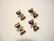 Korulinkki Rusetti pronssinvärinen 6 x 11 mm (2 kpl/pss)