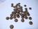 Metallihelmi/välihelmi (rondelli) antiikkipronssi/-kupari kukka 7 x 2 mm (20 kpl/pss)
