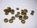 Metallihelmi/välihelmi (rondelli) antiikkipronssi 6 x 2 mm (20 kpl/pss)