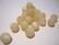 Polarishelmi luonnonvalkoinen (cream) matta 8 mm (4 kpl/pss)
