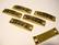 Korulinkki / riipus Hope antiikkikulta 9 x 35 mm, reikien halkaisija n. 2,5 mm (2 kpl/pss)