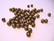 Metallihelmi antiikkikullattu (pronssinvärinen) uritettu 6 mm (20 kpl/pss)