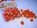 Rayher Puuhelmi oranssi 14 mm (18 kpl/pss)