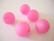 Polarishelmi vaalea pinkki/ruusunpunainen matta 20 mm